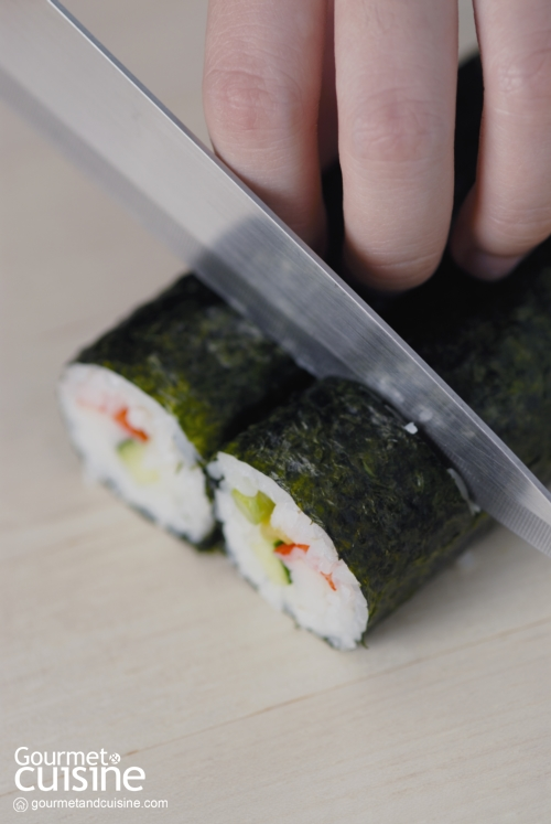 วิธีปั้นซูชิ อร่อยง่ายได้ที่บ้าน