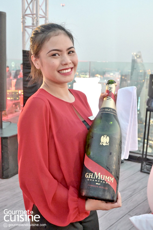 Mumm Olympe Rosé แชมเปญสีชมพูอ่อนตัวใหม่จาก G.H.Mumm