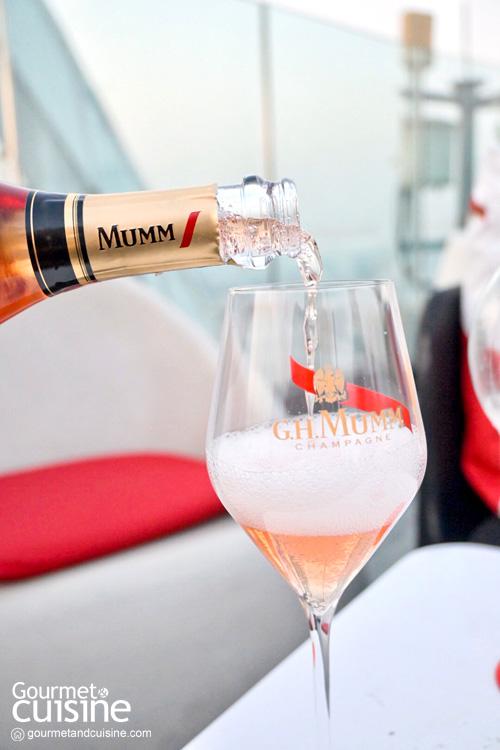 Mumm Olympe Rosé แชมเปญสีชมพูอ่อนตัวใหม่จาก G.H.Mumm  Mumm Olympe Rosé แชมเปญสีชมพูอ่อนตัวใหม่จาก G.H.Mumm
