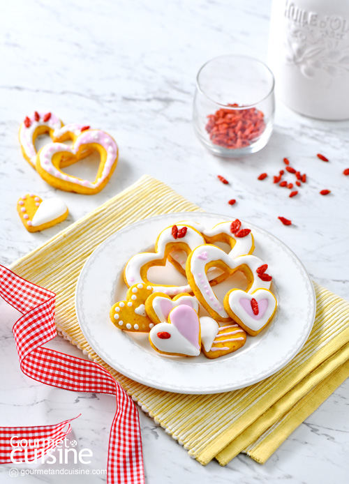 คุกกี้เก๋ากี้…กุ๊กกิ๊ก Goji Berry Cookies