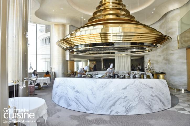 Chef's Table Bangkok ฝรั่งเศสไฟน์ไดนิ่งรางวัลมิชลิน