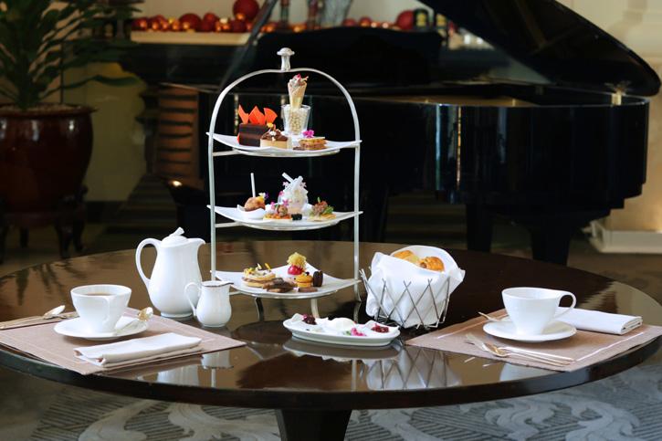 จิบน้ำชายามบ่ายกับช็อกโกแลต อาฟเตอร์นูนที    ณ เดอะ ล็อบบี้ โรงแรมอนันตรา สยาม กรุงเทพ