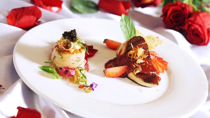 """ชวนคนรักมาเติมความสวีท รับประทานอาหารชั้นเลิศ กับเมนู """"ปรุงรส ปรุงรัก""""  ที่บลูเอเลเฟ่นท์"""