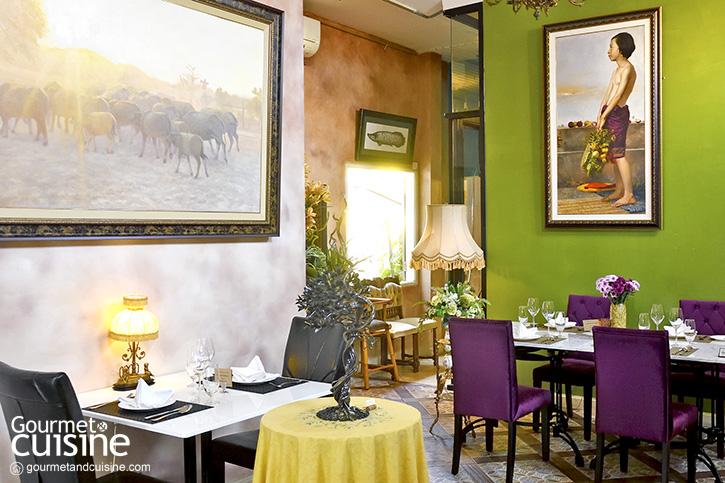 L'éléphant อาหารฝรั่งเศสสุดพิถีพิถันในอาร์ตแกลอรีกลางเมืองเชียงใหม่