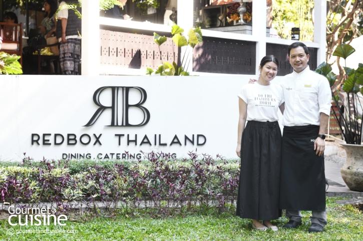 Redbox Thailand จากข้าวกล่องที่บรูไนสู่ร้านอาหารไทยทวิสต์กลางเมืองเชียงใหม่