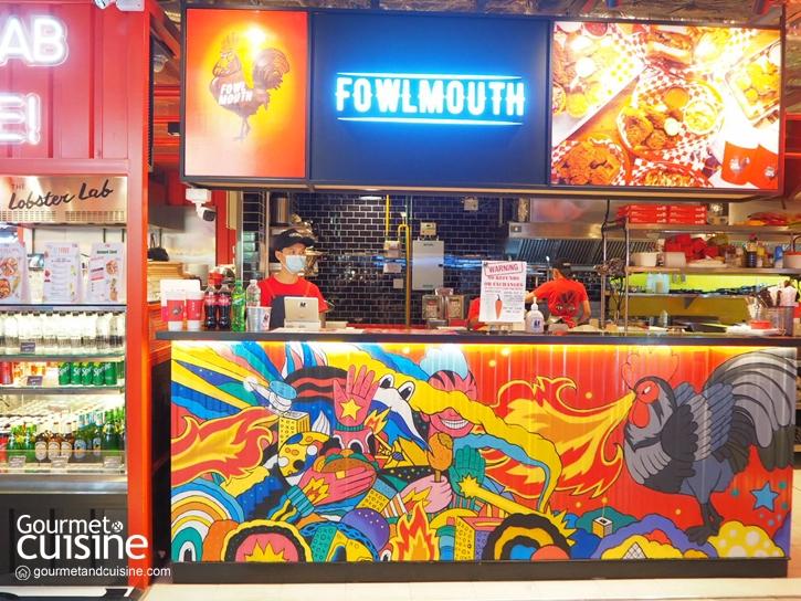 Fowlmouth : ไก่ทอดรสเผ็ดจี๊ดจากแนชวิลล์