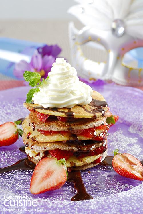 Black and White Pancake