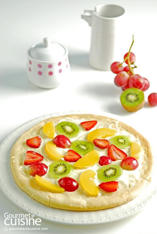พิซซาผลไม้ (Fruity Pizza)