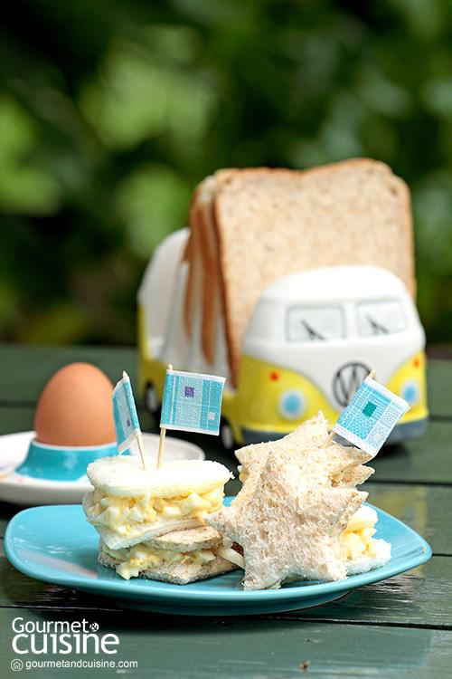 แซนด์วิชไข่ต้ม (Boiled Egg Sandwich)