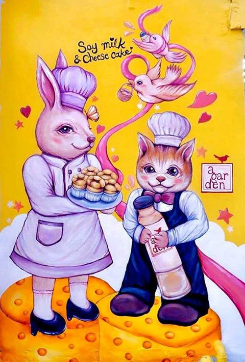 A Gardenbaking น้ำเต้าหู้คู่ชีสเค้ก เพื่อนซี้ความอร่อย