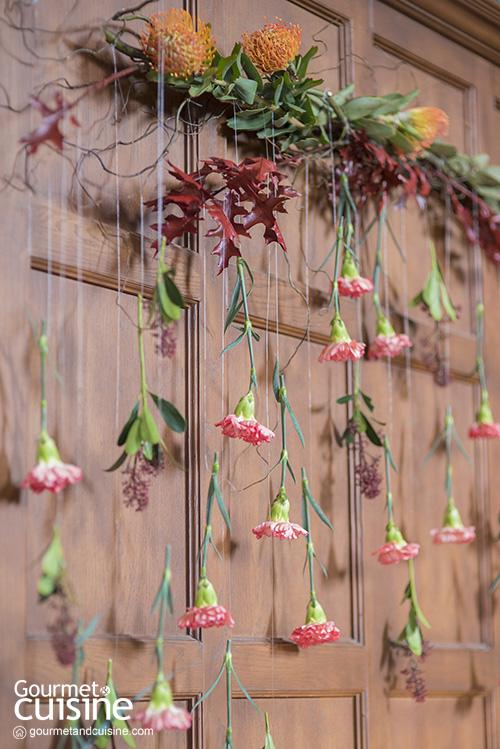 Wall Flower Party ผนังนี้เต็มไปด้วยดอกไม้