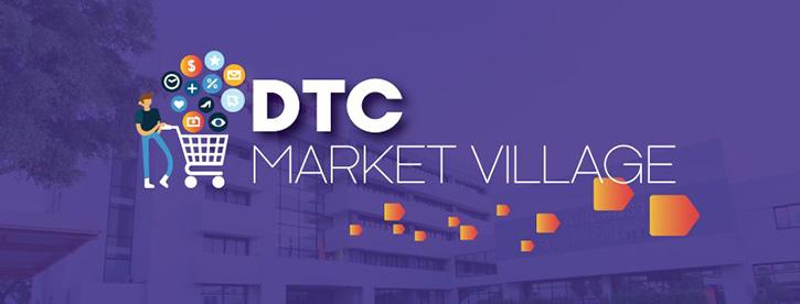 DTC Market Village กลุ่มลับฝากร้านชาววิทยาลัยดุสิตธานี