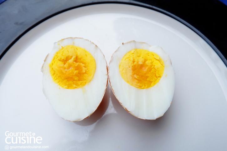 ไข่ต้มสุกมาก