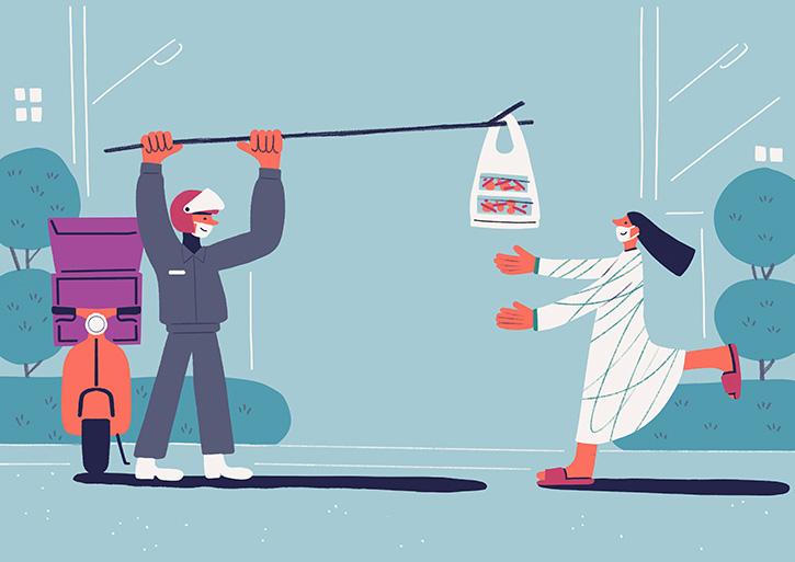 ข้อควรระวังในการสั่งอาหารเดลิเวอรี