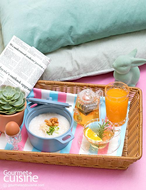 Bed and Breakfast เสิร์ฟอาหารเช้าอย่างไรให้เก๋