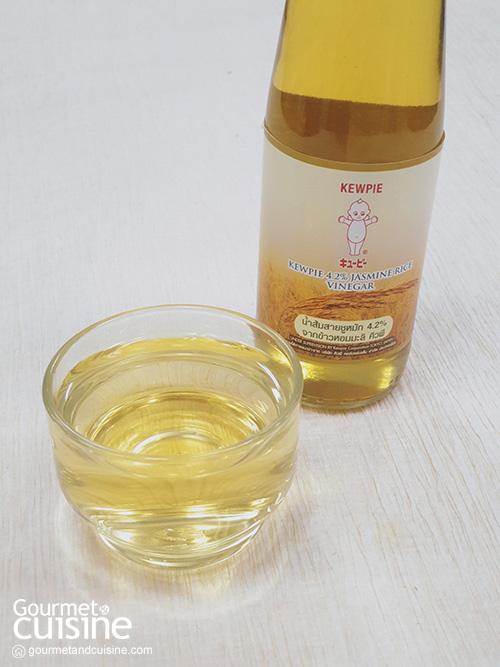 น้ำส้มสายชูหมัก 4.2% จากข้าวหอมมะลิ คิวพี