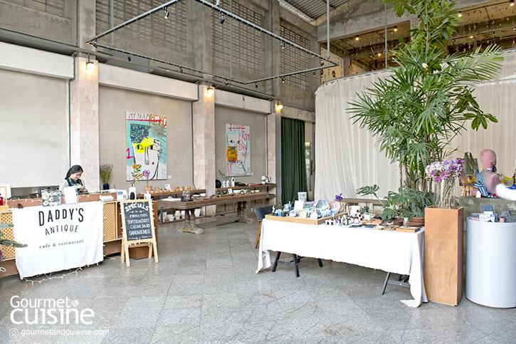 Taste Café Atelier กาแฟดีในโกดังศิลปะสุดฮิปบนถนนวัวลาย