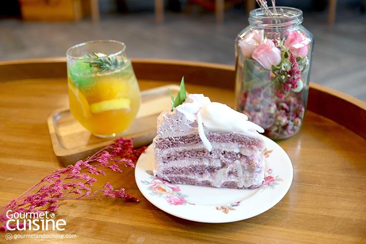 B Bake คาเฟ่สำหรับคนรักเค้กแห่งโครงการ The Master อุดมสุข