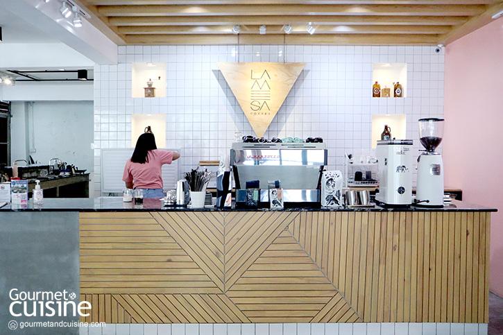 La Mesa Coffee Co. คาเฟ่สีชมพูสุดฮิปน่าเช็กอินแห่งย่านอุดมสุข