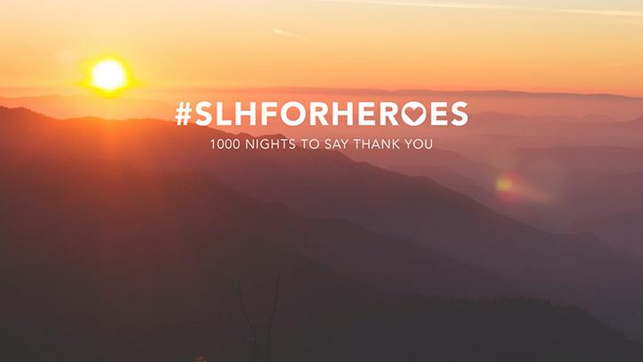#SLHFORHEROES มอบห้องพักของโรงแรมในกลุ่ม SLH จำนวน ให้แก่ฮีโร่ในการสู้รบกับการแพร่ระบาดของไวรัสโควิด-19