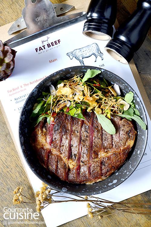 Fat Beef Bangkok ร้านเนื้อดีที่ถนนนางลิ้นจี่สาทร