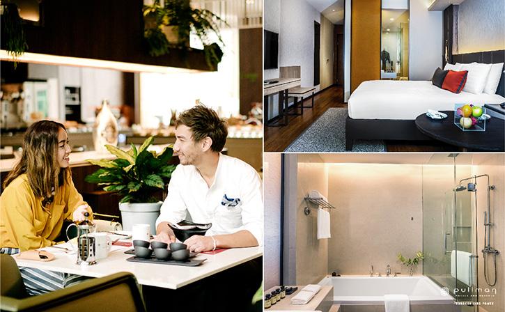แพ็กเกจห้องพักสุดพิเศษ เริ่มต้นที่ 1,999 บาทต่อห้องต่อคืน  ณ โรงแรมพูลแมน คิง เพาเวอร์ กรุงเทพ
