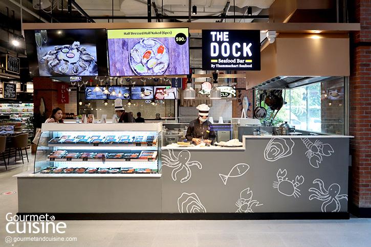 The Dock อร่อยกับซีฟู้ดบาร์ระดับคุณภาพที่เดอะมอลล์ งามวงศ์วาน