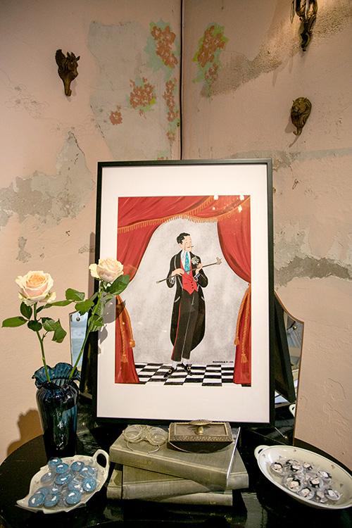 ชุดน้ำชายามบ่ายกับศิลปะในร้านสวยที่ M.T.ROLLIN CLUB
