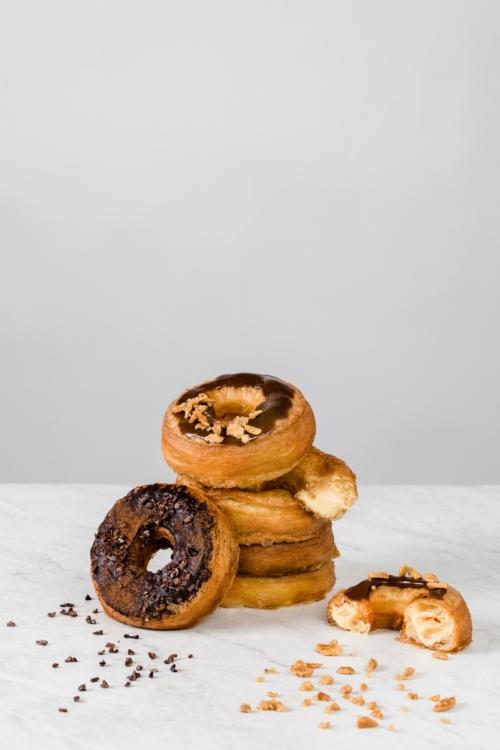 """ตามไปชิมด่วน """"โครนัท"""" (Cronut) เมนูใหม่สุดฟินจาก CPS Coffee"""