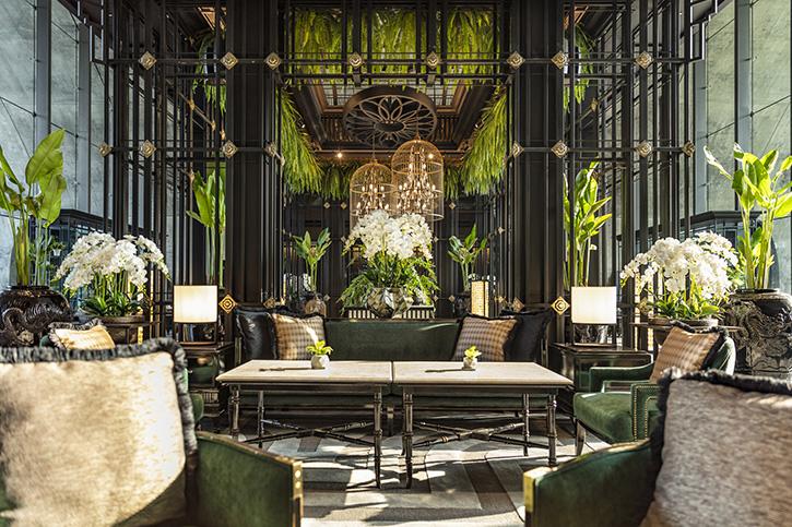 ชุดน้ำชายามบ่าย @ Lobby Lounge โรงแรมสินธร เคมปินสกี้ กรุงเทพฯ