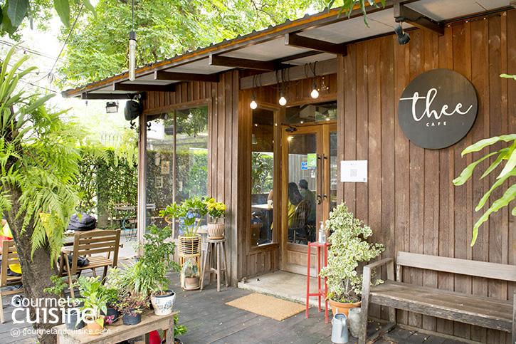 Thee Cafe โฮมเมดคาเฟ่ในบรรยากาศโฮมมี่