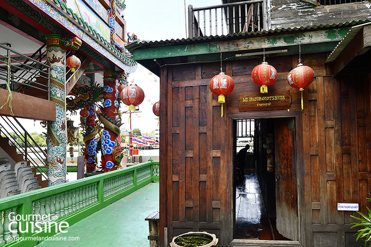 'My Grandparent's House บ้านอากงอาม่า' คาเฟ่ในบ้านหลังงามริมแม่น้ำเจ้าพระยา