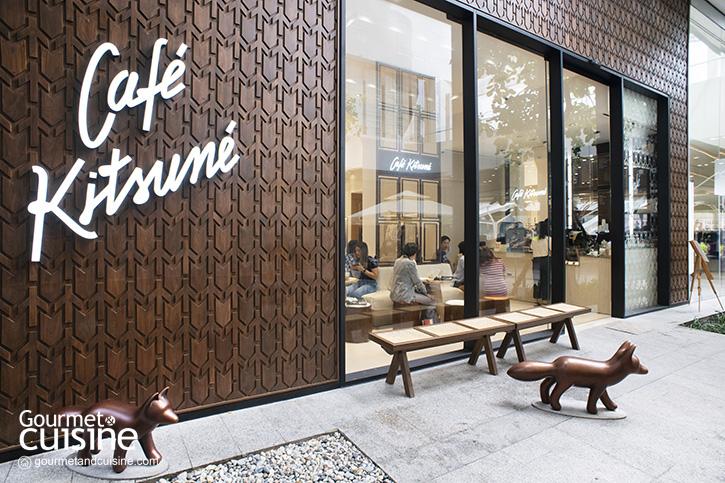 Café Kitsune Bangkok คาเฟ่สัญชาติฝรั่งเศส-ญี่ปุ่นมาแลนด์ดิ้งแล้วที่ The Emquartier