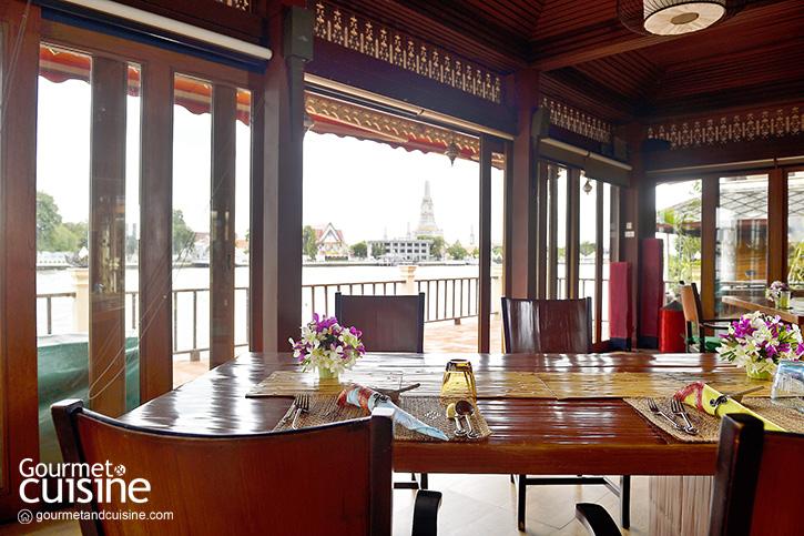 Chakrabongse Dining อาหารไทยต้นตำรับวังจักรพงษ์ริมแม่น้ำเจ้าพระยา