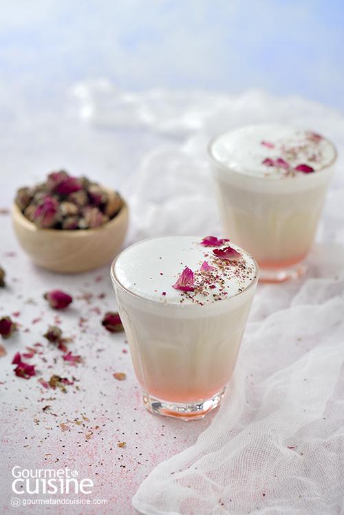 Rose Pistachio Milk Latte