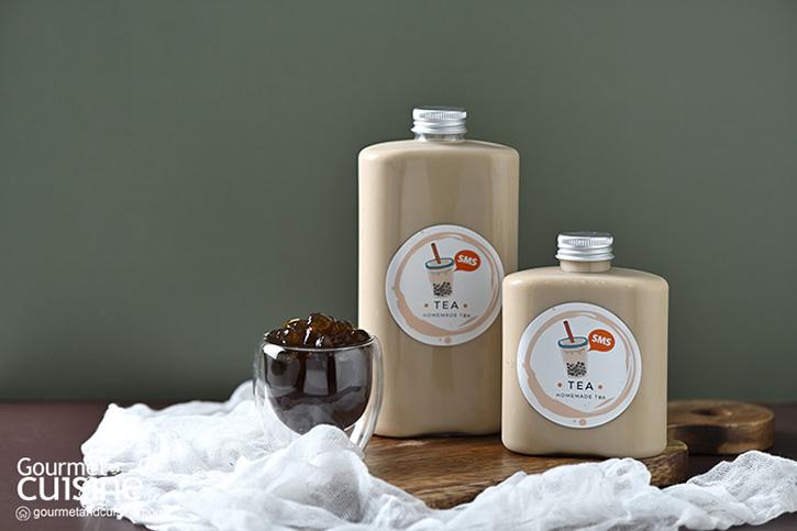 SMS TEA : ชานมไต้หวันไข่มุกโฮมเมด แบบเดลิเวอรี่