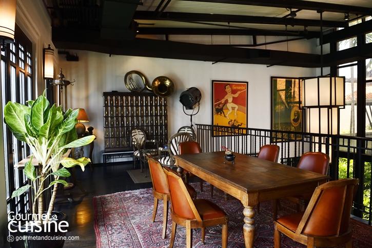 เติมชีวิตชีวา ที่ Deco Bar บาร์อาร์ตมีสไตล์ @ The Siam Hotel