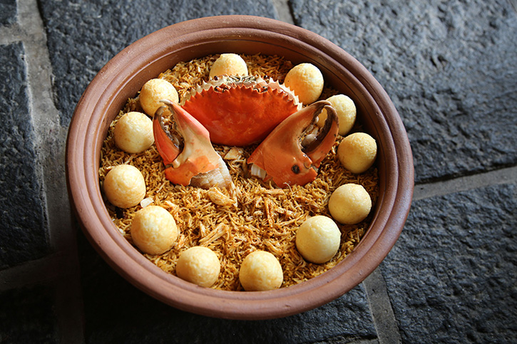 """""""Crab Biryani"""" ข้าวหมกปูในตำนานของศรีลังกา เมนูใหม่จากร้าน """"Ministry of Crab Bangkok"""""""