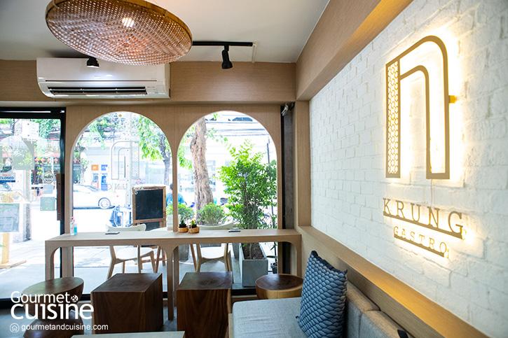 """""""Krung Gastro Café"""" โฮมคาเฟ่ที่พร้อมบอกเล่าเรื่องราวของถนนเจริญกรุง"""