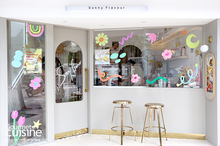 Sunny Flavour ร้าน (ใหม่) สุดน่ารักแห่ง Gump's Ari ที่หลายคนรอคอย