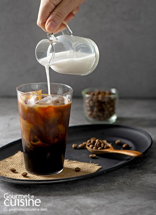Black Coffee with Coconut Milk