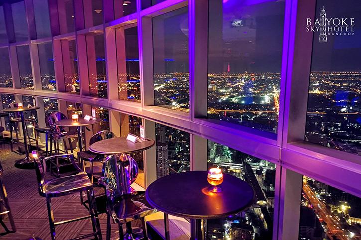 """""""ROOF TOP BAR"""" ฟรี! ค่าเข้า Night club ที่สูงที่สุดในประเทศไทย บนชั้น 83 ที่โรงแรมใบหยก สกาย"""