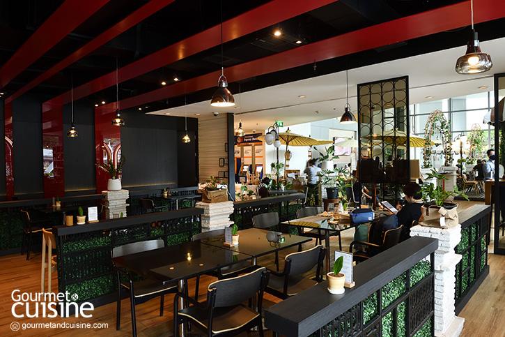 Café Jardin คาเฟ่ในสวนสวย อร่อยด้วยอาหารไทยออร์แกนิค