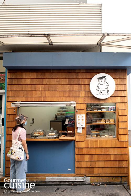 Fat.P Eatery ร้านแซนด์วิชโฮมเมด บนถนนสาทร