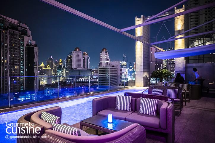 ให้(ดินเนอร์)คืนนี้เป็นสีชมพูที่ Barracuda Rooftop Bar