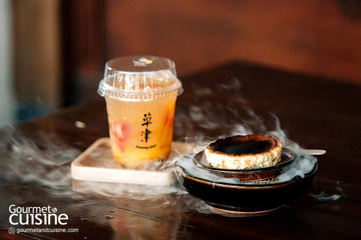 จิบชาในคาเฟ่สไตล์ญี่ปุ่นที่ Kusatsu Café ชลบุรี
