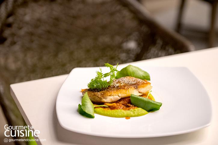 Aqua Eatery & Bar ห้องอาหารสวยริมสระแห่ง Amari Pattaya