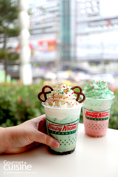"""""""คริสปี้ ครีม"""" ชวนส่งท้ายปีแสนอร่อยกับ """"Magic of North Pole Doughnut"""""""