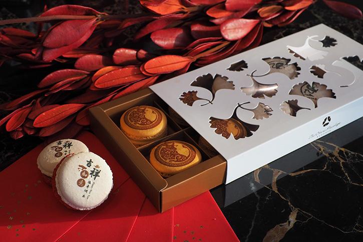 กล่องของขวัญแสนพิเศษสำหรับเทศกาลตรุษจีนจากร้านขนมลา พาทิสเซอร์รี