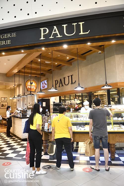ถ้าพูดถึงครัวซองต์ต้องร้าน Paul Bakery